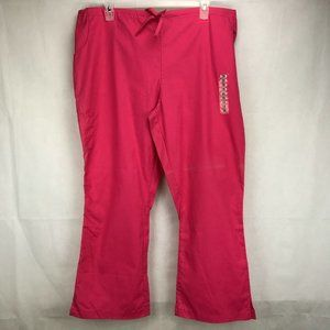 Peaches FSIA Soft/Durable size 2XL Scrub Pants #72